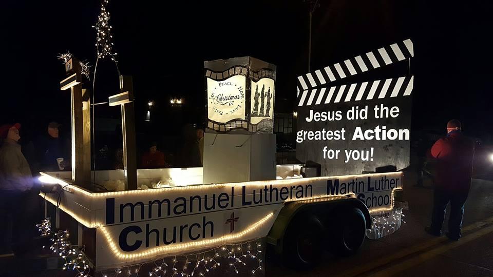 Christmas Parade 2016 | Immanuel Lutheran Church-LCMS