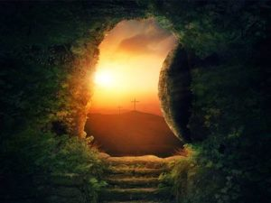 now what easter empty tomb