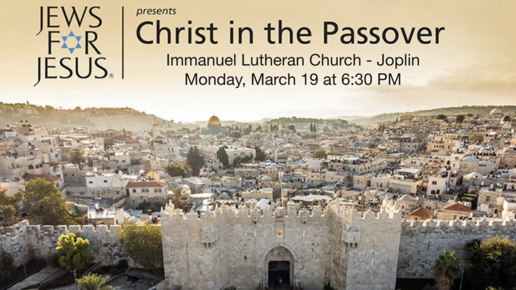Christ In The Passover Presentation 1