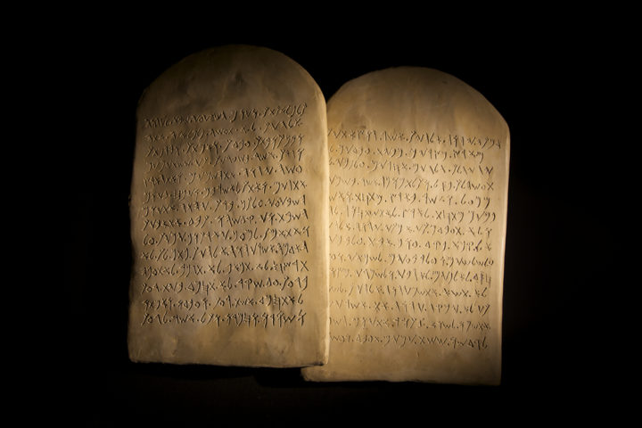 stone tablets ten commandments