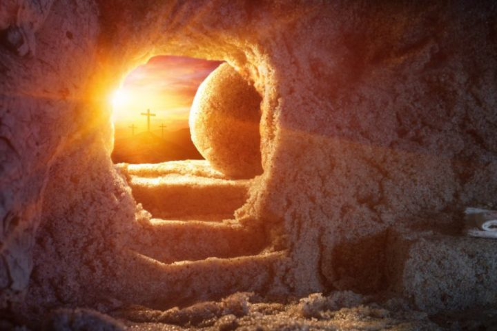 easter sunrise service empty tomb jesus