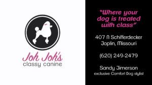 joh joh's classy canine joplin missouri sandy jimerson stylist