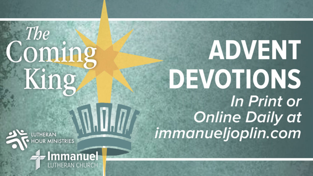 the coming king advent devotions