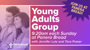 young adults bible study group immanuel lutheran church joplin missouri