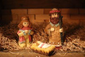 ordinary nativity figurines advent devotion immanuel lutheran church joplin missouri