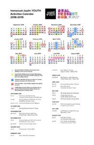 immanuel lutheran youth joplin missouri activity calendar 2018