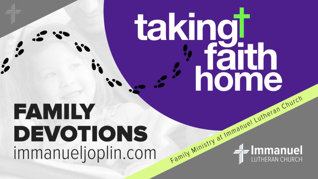taking faith home family devotions