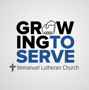 growing to serve. immanuel lutheran church lcms. joplin missouri.