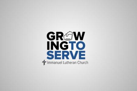 growing to serve. immanuel lutheran church lcms. joplin missouri. youth ministry.