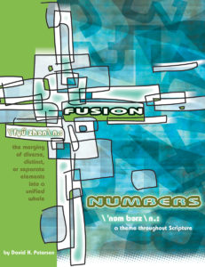 fusion numbers a theme throughout scripture by david h peterson concordia publishing house