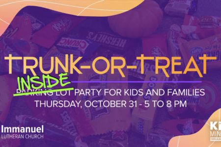 trunk or treat moved inside