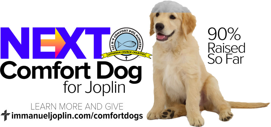 Generous Support For Joplin's Next Comfort Dog 2