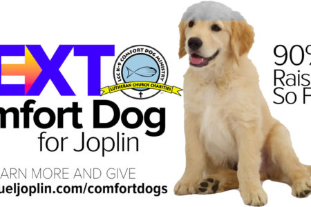 Fundraising Nearly Complete For Joplin's Next Comfort Dog 2