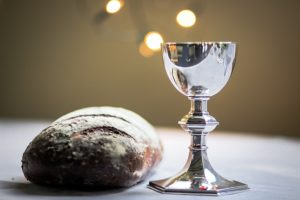 holy communion bread chalice