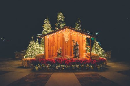 call him jesus. outdoor nativity. advent devotion. immanuel lutheran church lcms. joplin, missouri. call his name jesus.