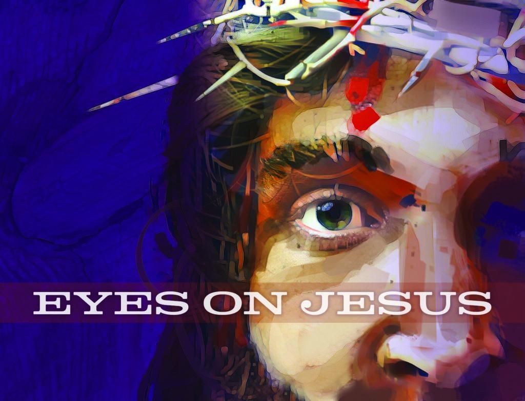 Eyes On Jesus. Lent 2020. Immanuel Lutheran Church LCMS. Joplin, Missouri. Concordia Publishing House.