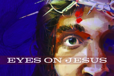 Eyes On Jesus. Lent 2020. Immanuel Lutheran Church LCMS. Joplin, Missouri. Concordia Publishing House.