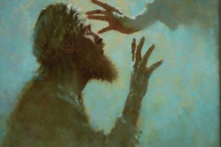 Jesus healing the Blind Man, 2008 © Brian Jekel. In a Time of Social Distancing. Sermon. Immanuel Lutheran Church LCMS. Joplin, Missouri.
