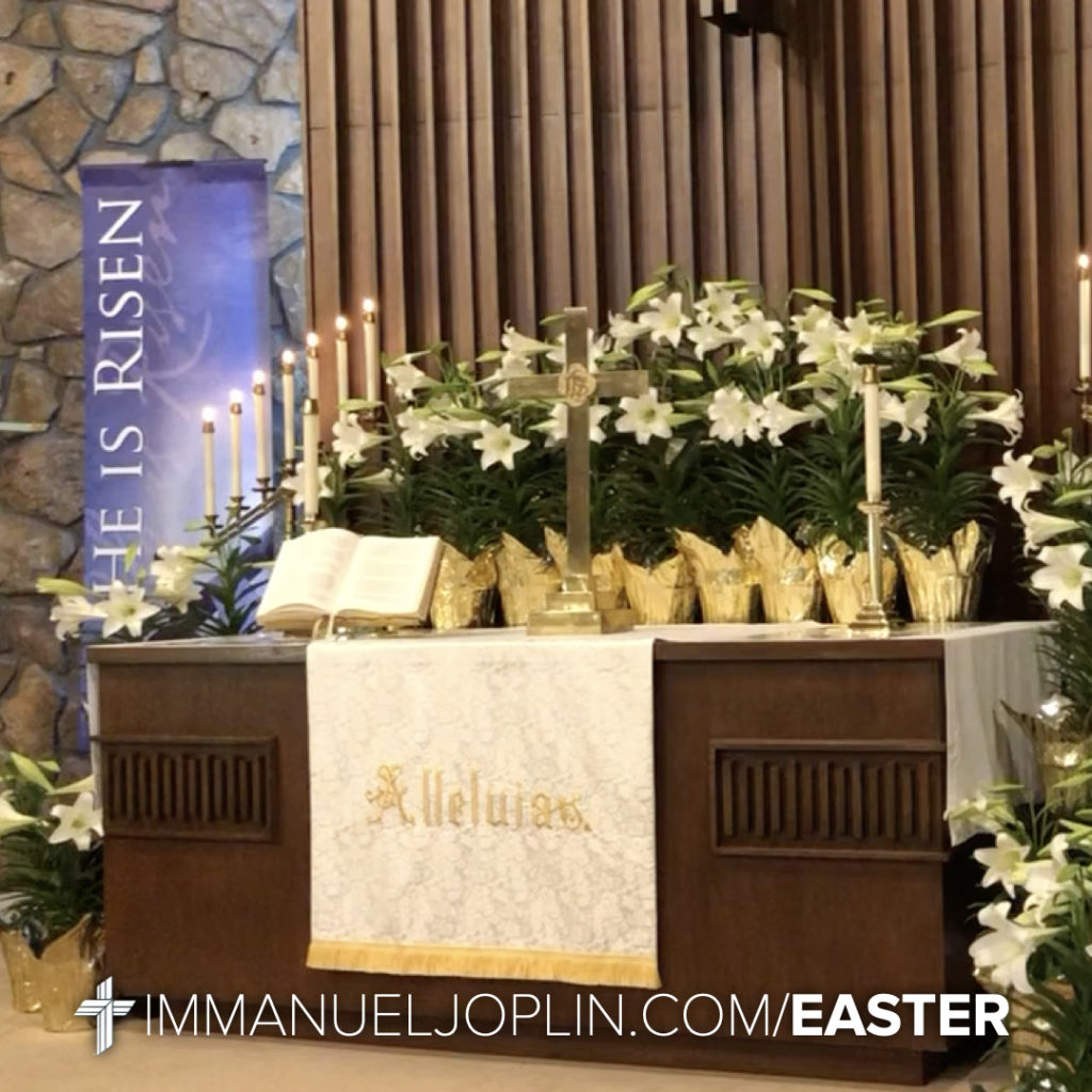 Easter at Immanuel 6