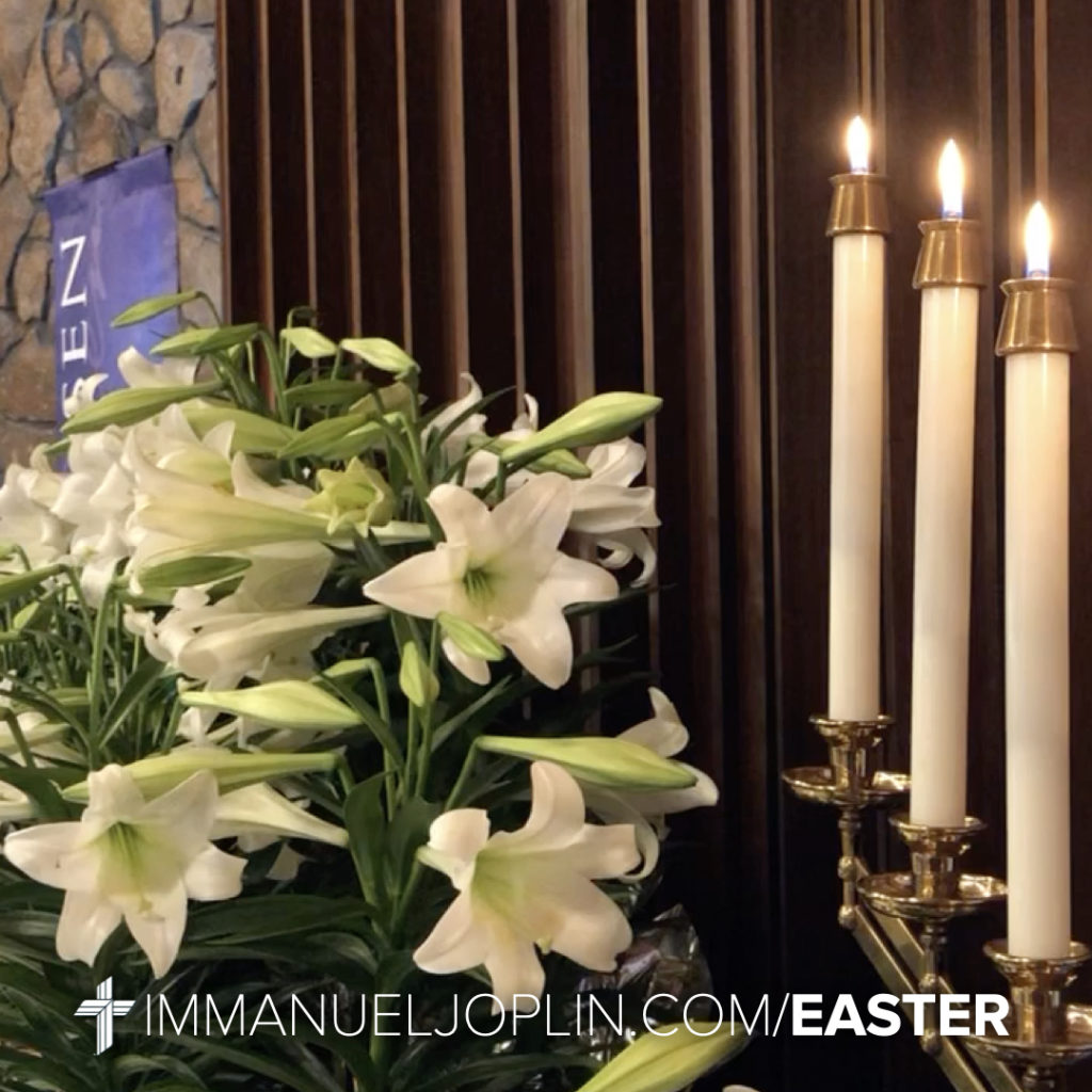 Easter at Immanuel 9