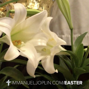 easter at immanuel