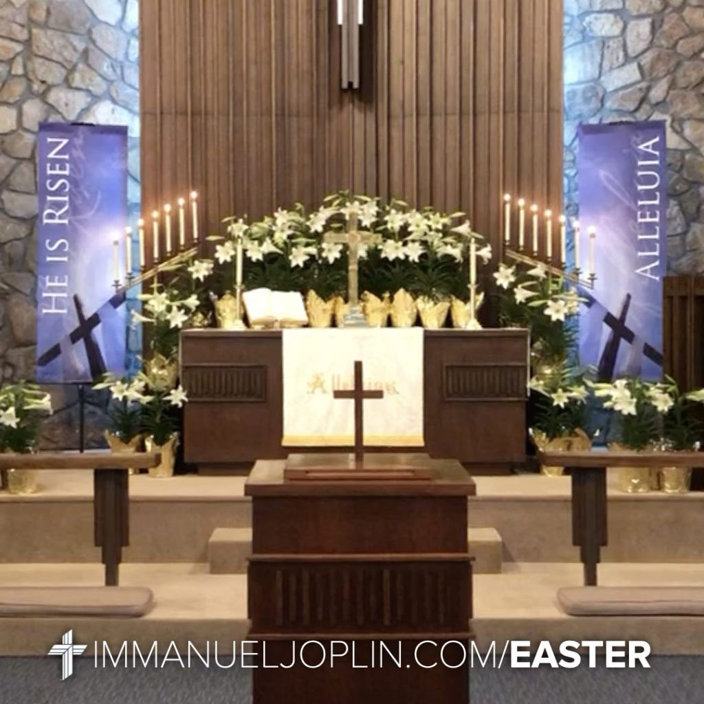 Easter at Immanuel 14