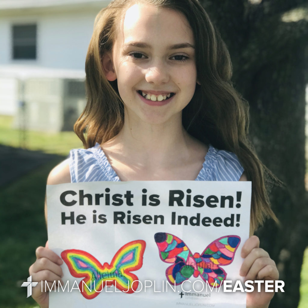 Easter at Immanuel 47