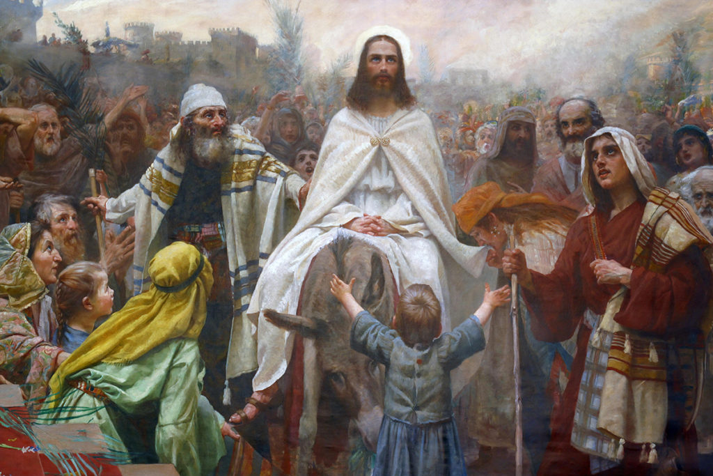 The Humble King, Jesus' Triumphal Entry into Jerusalem. Sermon by Rev. Gregory Mech. Immanuel Lutheran Church LCMS. Joplin, Missouri. Palm Sunday.
