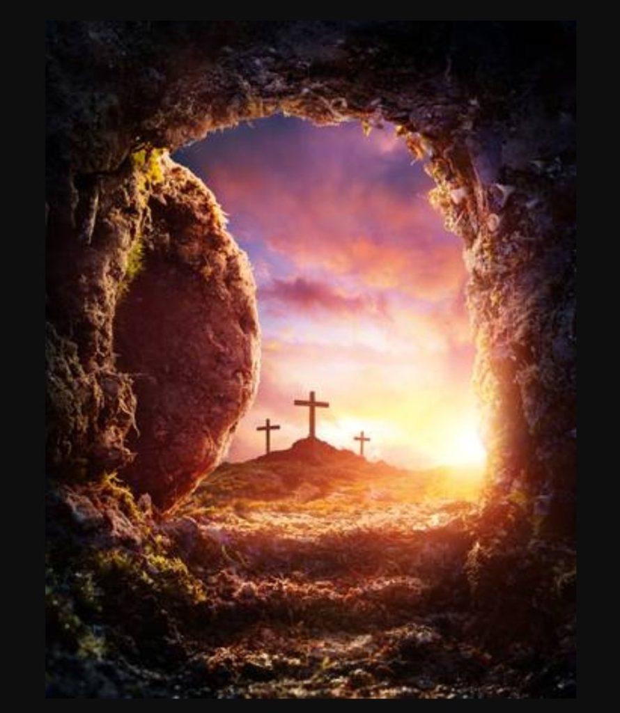 Cross sunrise to empty tomb. Pulling Focus sermon. Rev. Gregory Mech. Immanuel Lutheran Church LCMS. Joplin, Missouri.