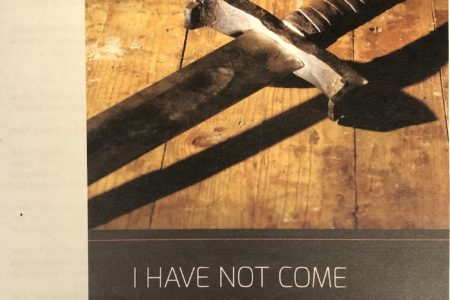 Fourth Sunday after Pentecost cover. I have not come to bring peace but a sword. Immanuel Lutheran Church LCMS. Joplin, Missouri.