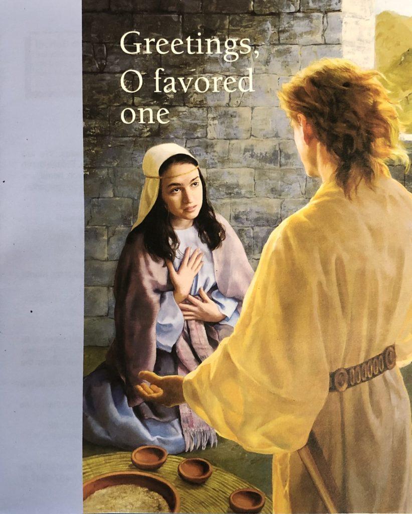 Fourth Sunday in Advent bulletin cover. Immanuel Lutheran Church LCMS. Joplin Missouri