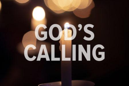 God's Calling. God With Us Advent Devotion. Immanuel Lutheran Church LCMS. Joplin Missouri.