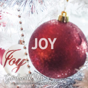 Joy. God With Us Advent Devotion. Immanuel Lutheran Church LCMS. Joplin Missouri.