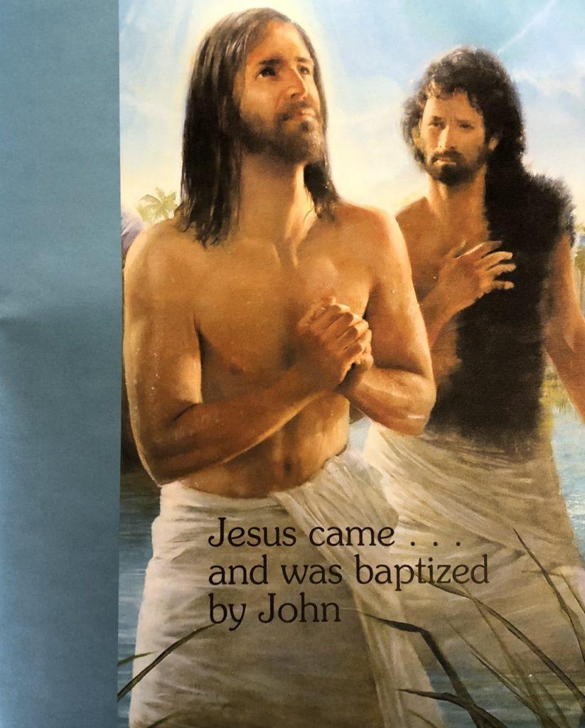Speaking of Baptism. Immanuel Lutheran Church LCMS. Joplin Missouri.