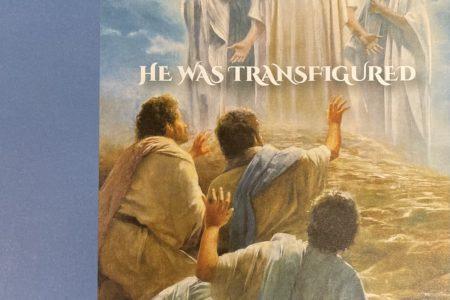 Transfiguration Sunday bulletin cover. Immanuel Lutheran Church LCMS. Joplin Missouri.