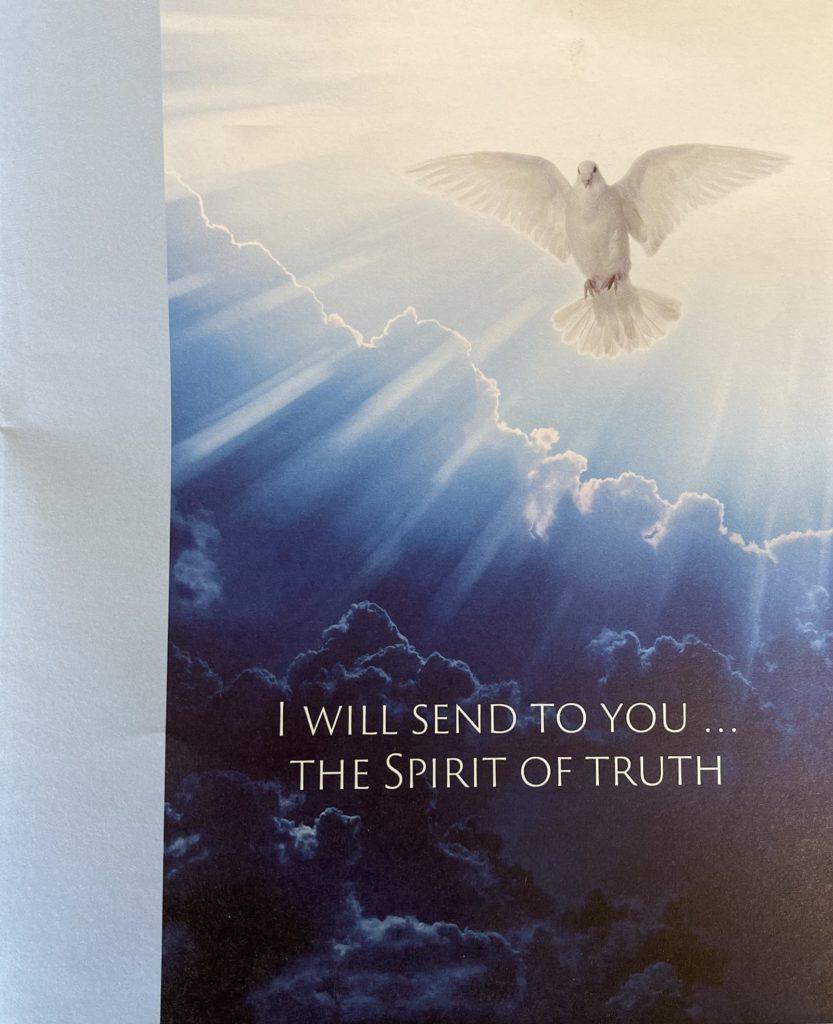 May 23 Bulletin Cover Marking Ten Years of Recovery. Immanuel Lutheran Church LCMS. Joplin Missouri. Tornado.