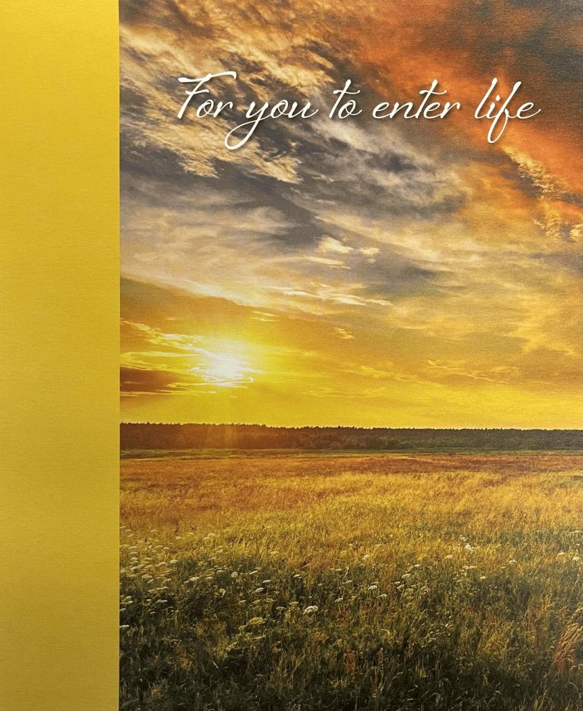 Pentecost 18. For You to Enter Life. Immanuel Lutheran Church LCMS. Joplin Missouri.